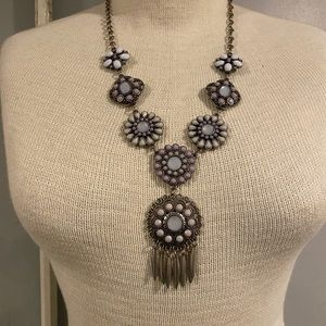Francesca Multi color Statement necklace